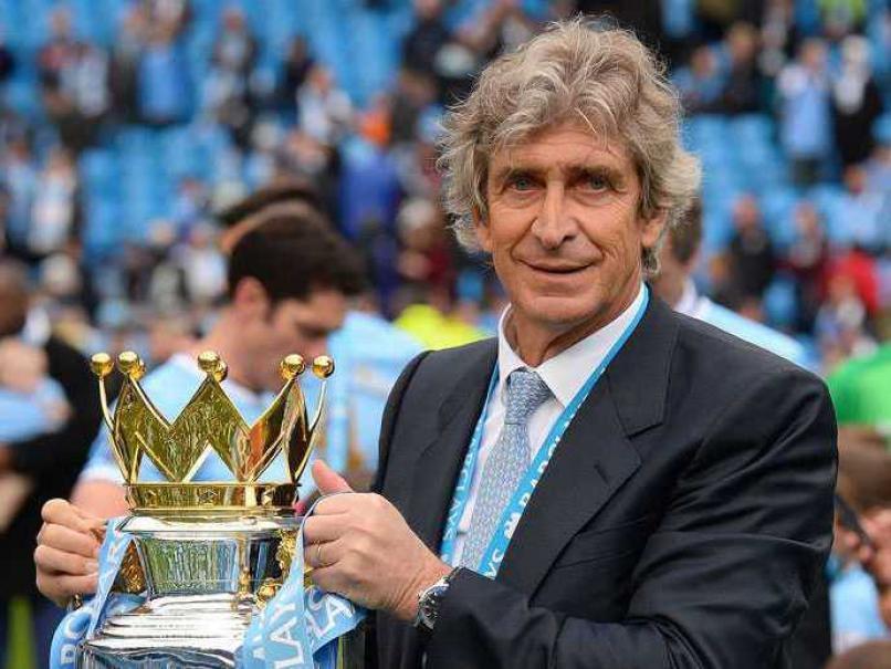 Pellegrini con el trofeo de la Premier