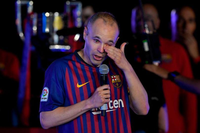 Iniesta se ha despedido del Barcelona.
