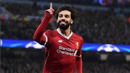 Mohamed Salah del liverpool