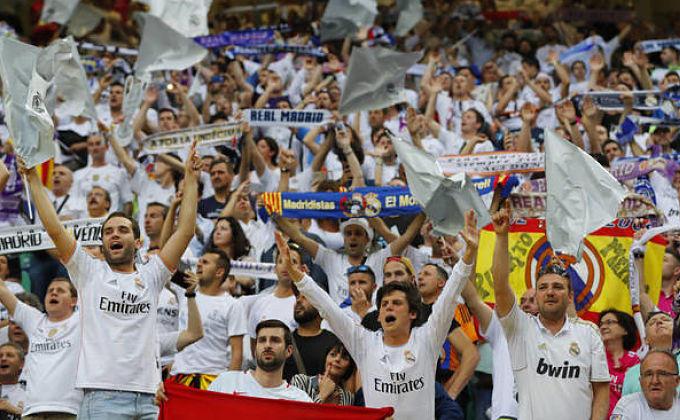 Afición del Real Madrid