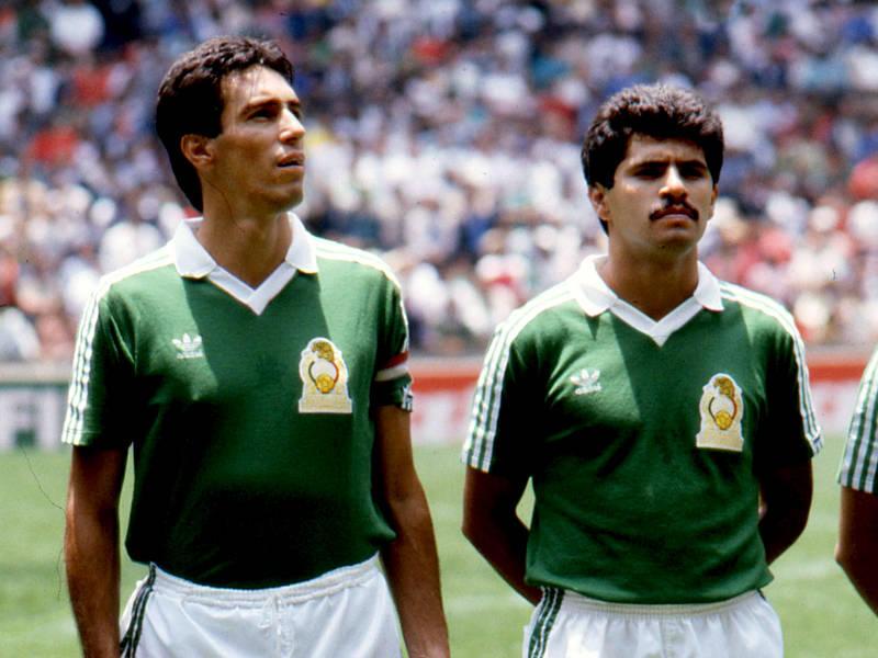 Tomás Boy y Luis Flores previo al amistoso vs Alemania