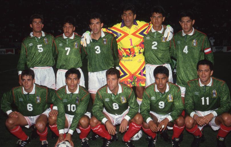 El equipo mexicano que logró la única victoria hasta la fecha ante Suecia en 1994