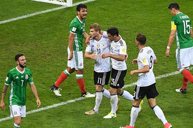 Alemania vs México en Confederaciones