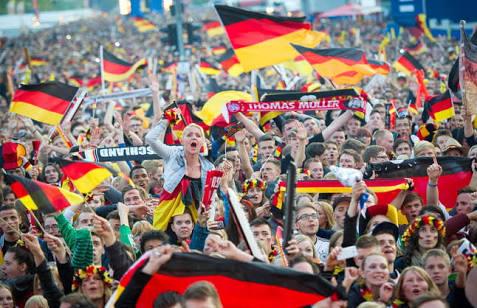 Aficionados alemanes