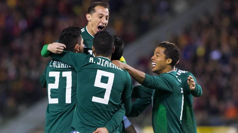 Celebración de gol.