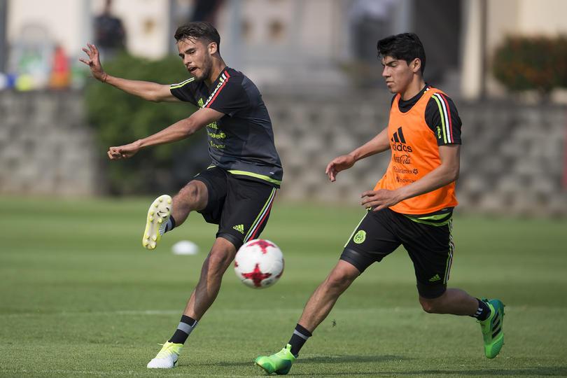 Diego Reyes y Erick Gutiérrez