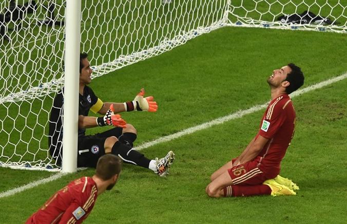 España eliminada de Brasil 2014