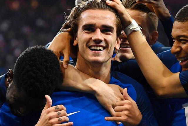 Griezmann con Francia