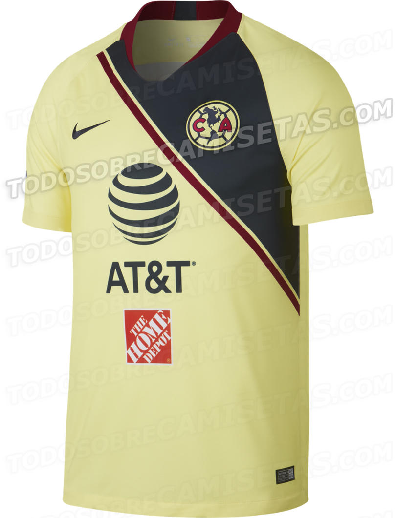 Estos serían los nuevos uniformes del América 9c59741240ecc