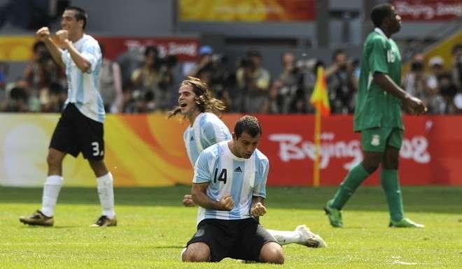 Argentina vs Nigeria, olimpicos 2004