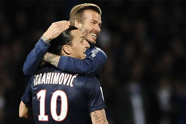 Zlatan y Beckham