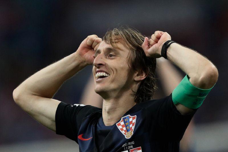 Modric, el líder croata