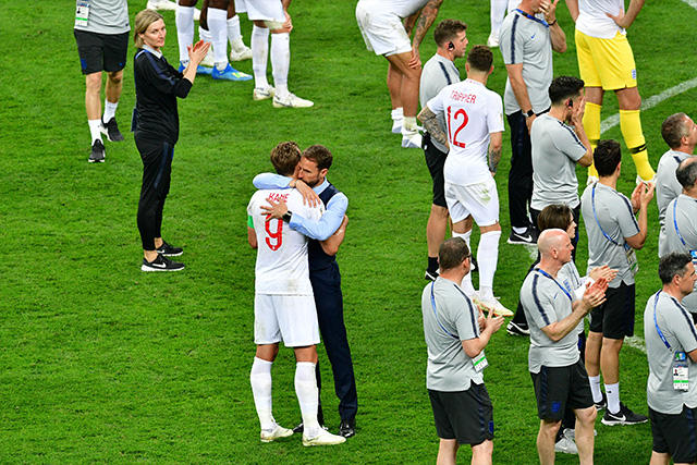 Inglaterra después de ser eliminados del mundial