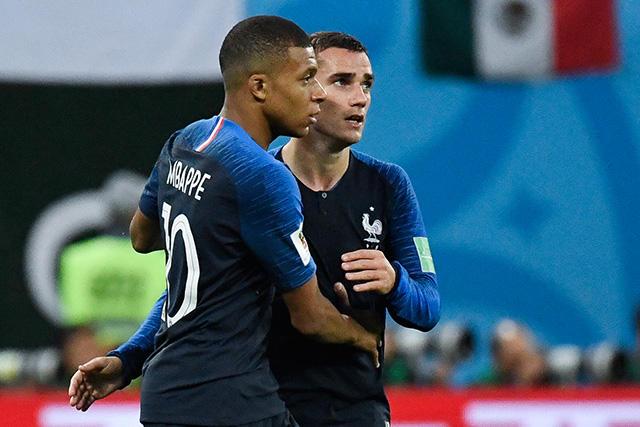 Mbappé y Griezmann