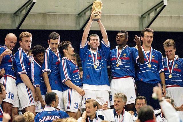 Francia campeón 1998