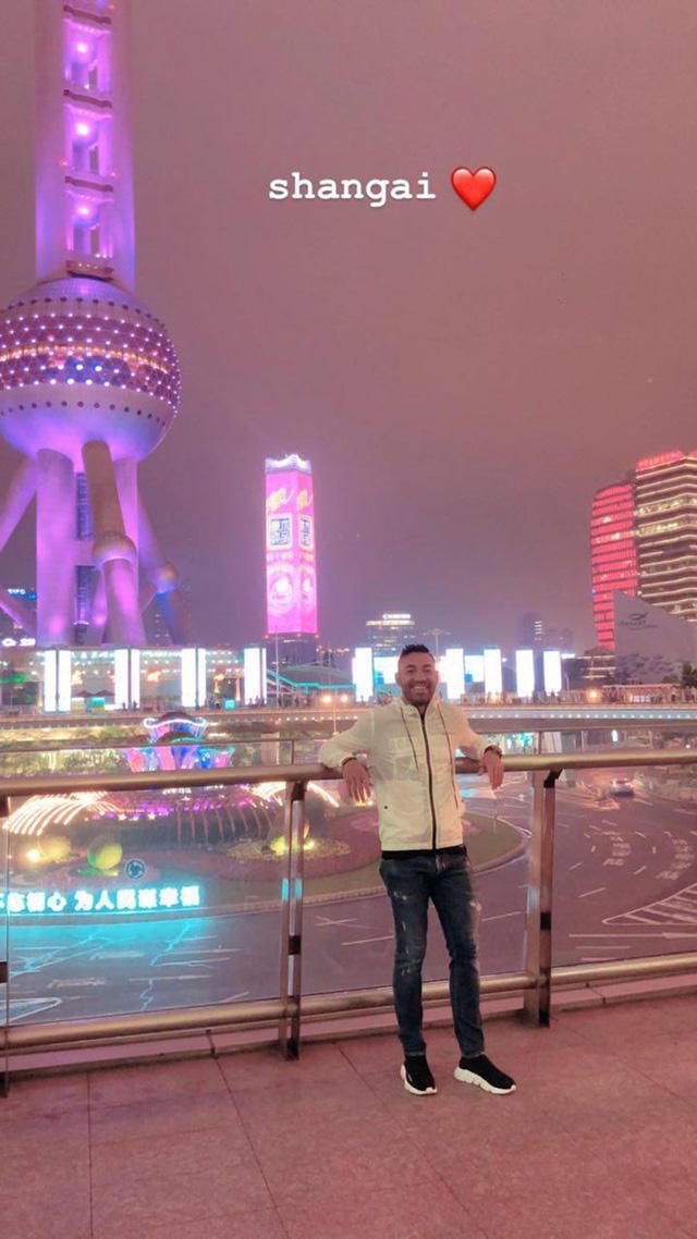 Marco Fabián de vacaciones en Shangai