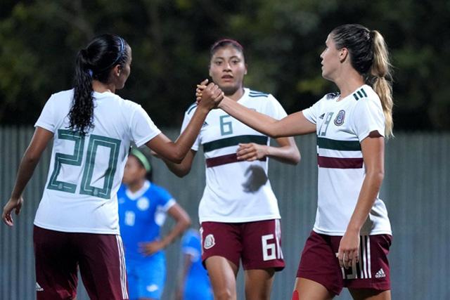 México Femenil en los Centroamericanos