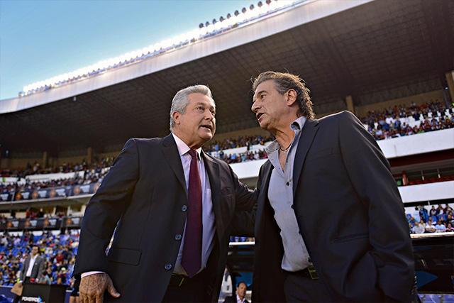 Víctor Vucetich y Rubén Romano