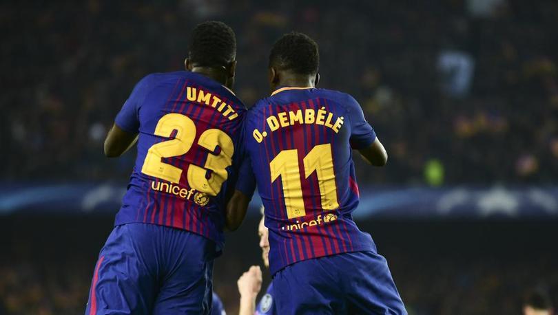 Umtiti y Dembélé son actuales campeones del mundo