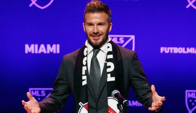 David Beckham AFP