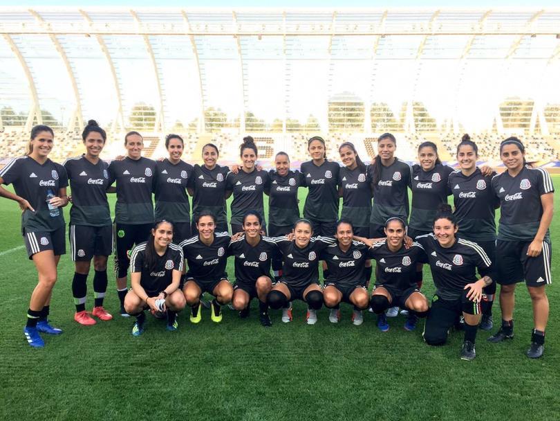 La selección mexicana femenil