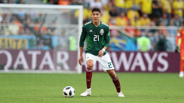 Edson Álvarez en el Mundial