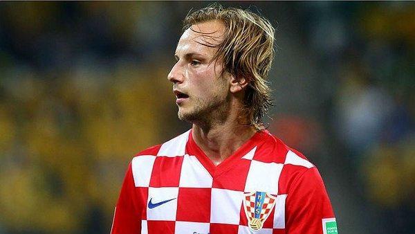 Iván Rakitic con Croacia