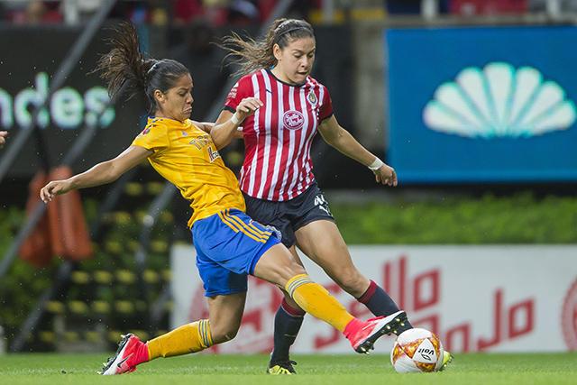 Chivas vs Tigres Femenil