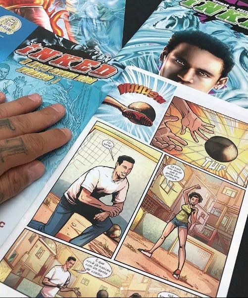 Parte del primer número del cómic