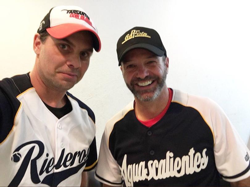 Luis García y Christian Martinoli