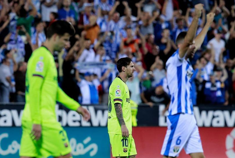 Barcelona derrotado