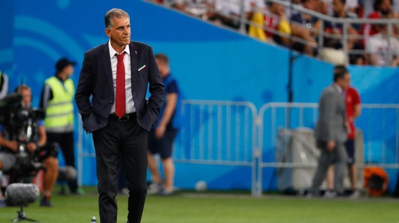 Carlos Queiroz dirigió a Irán en la pasada Copa del Mundo de Rusia.