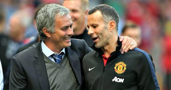 Mourinho y Giggs