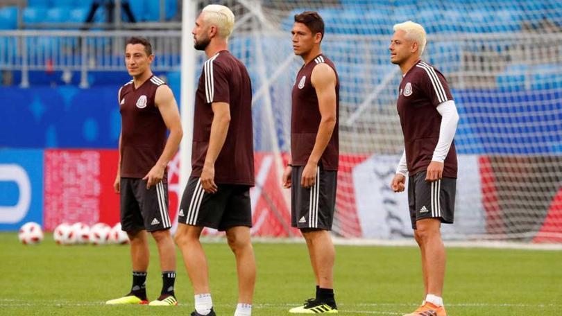 Guardado, Layún, Héctor Moreno y Chicharito