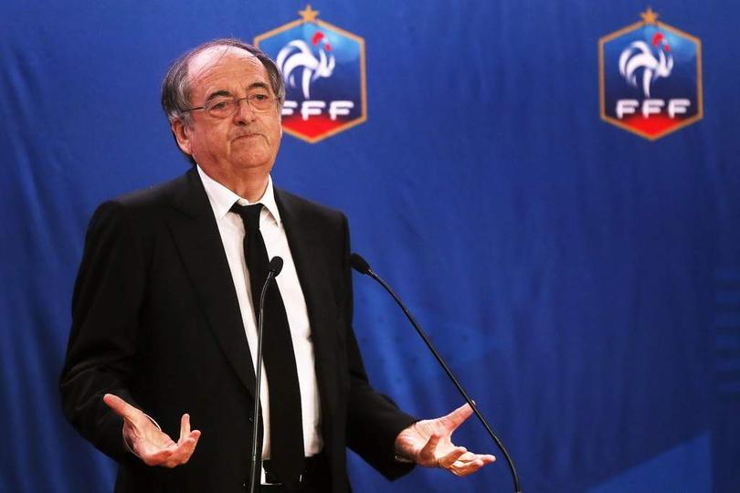 Noel Le Graët, presidente de la Federeción Francesa de Futbol