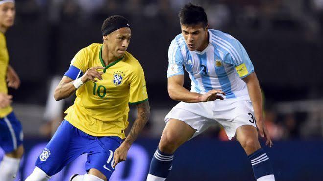 Un Brasil vs Argentina en la eliminatorias rumbo a Rusia 2018