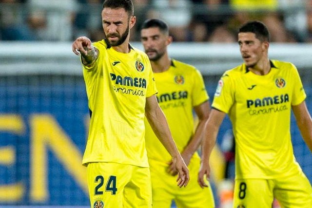 Miguel Layún con el Villarreal