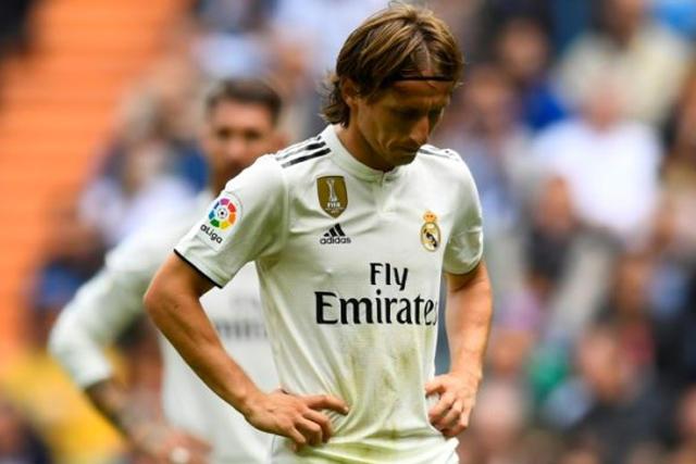 Luka Modric tras la derrota contra el Levante