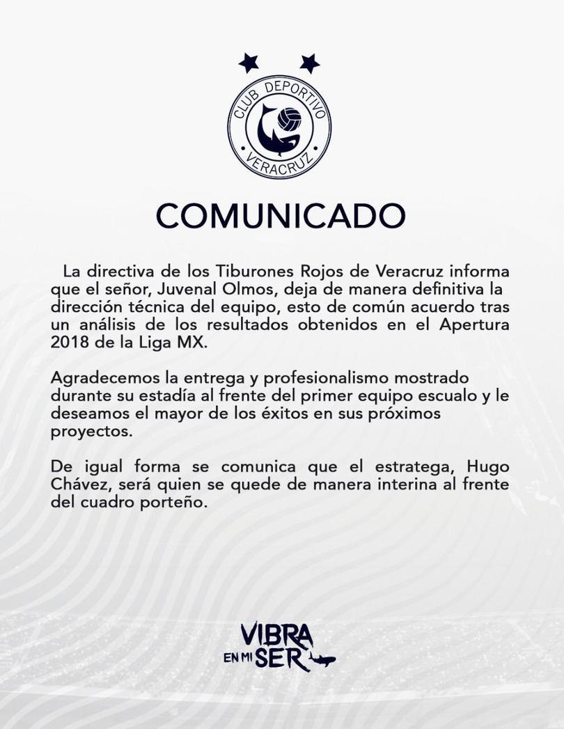 Comunicado de Veracruz