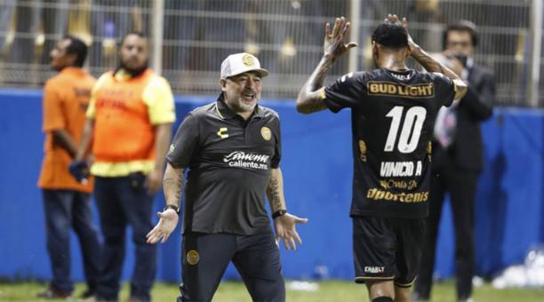 Maradona y Vinicio