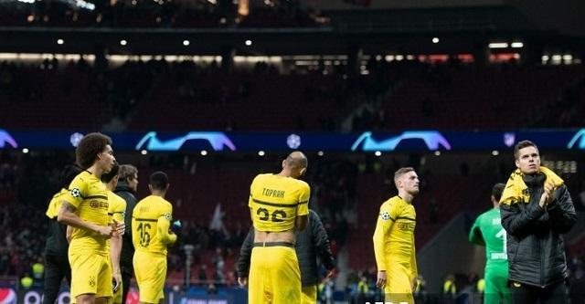 Fin de partido Atlético de Madrid - Dortmund