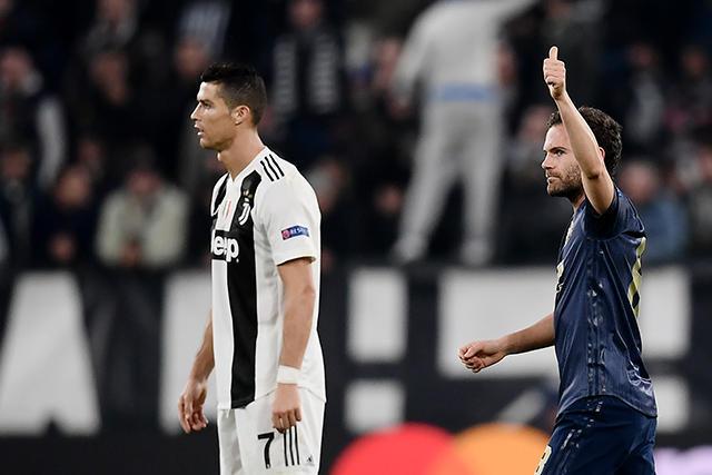 Cristiano Ronaldo y Mata