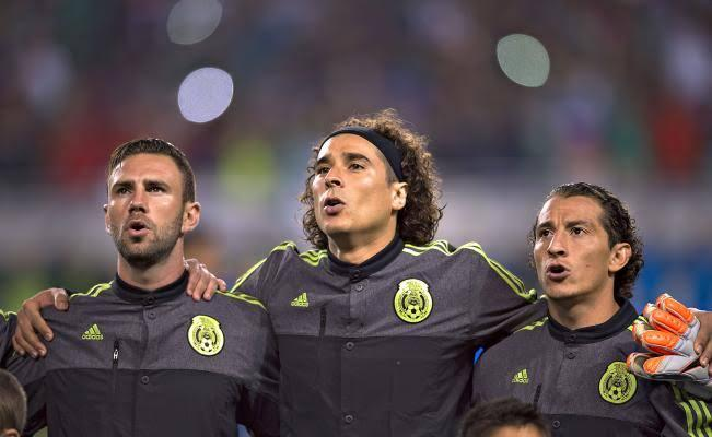 Ochoa, Layún y Guardado