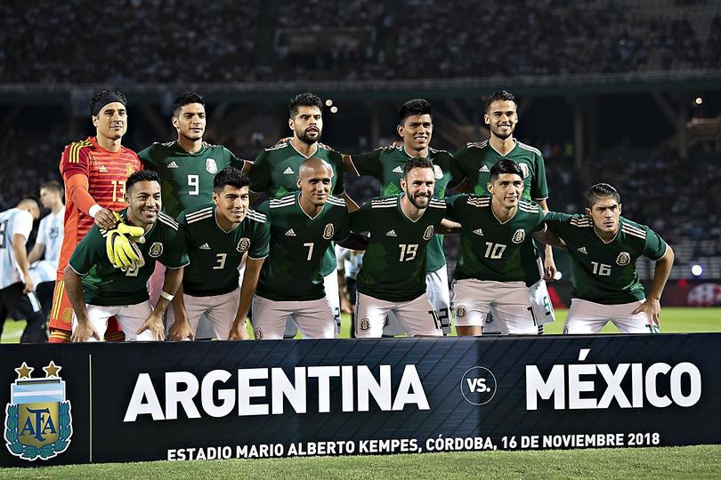 Foto de México antes del juego
