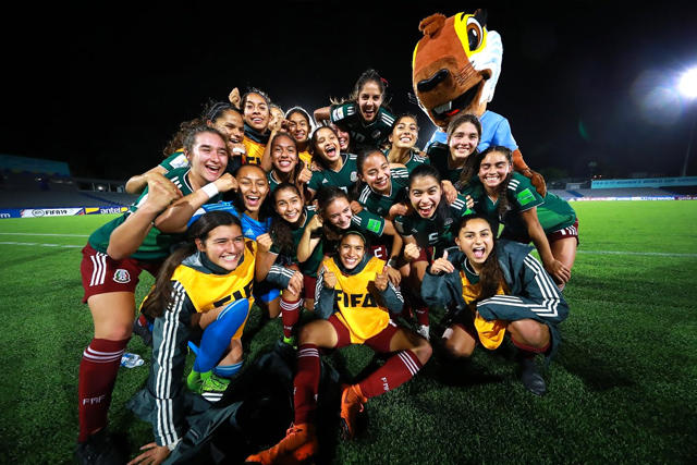 Jugadoras de México Femenil Sub-17