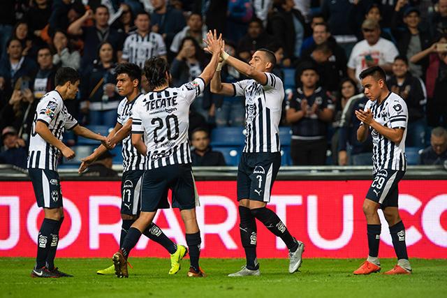 Funes Mori celebra su gol