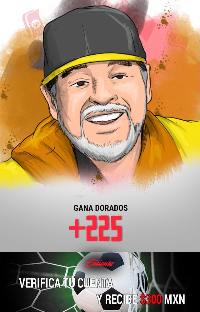 Si crees que Dorados gana el partido de vuelta vs Atl. San Luis, apuesta en Caliente y llévate mucho dinero.