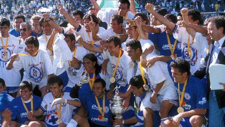 Cruz Azul campeón Invierno 97