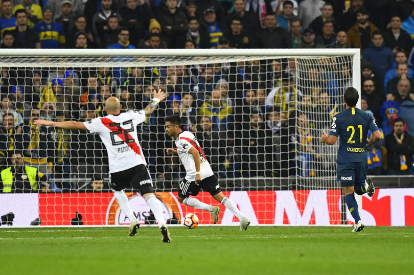 Gol del Pity Martínez