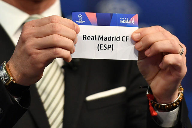 Sorteo de la Champions League